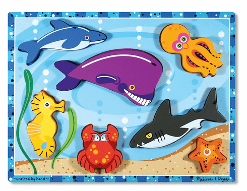 Chunky Puzzle - Sea Creatures