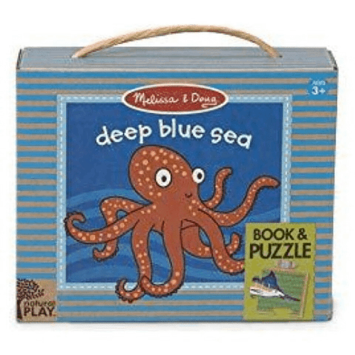 Natural Play Book & Game - Deep Blue Sea