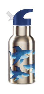 Crocodile Creek Stainless Steel Bottle - Sharks