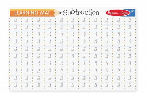 Learning Mat Subtraction