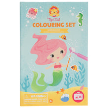 Load image into Gallery viewer, Colouring Set - Mermaids