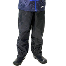 Load image into Gallery viewer, Rain Pants - Black Size 6X-7