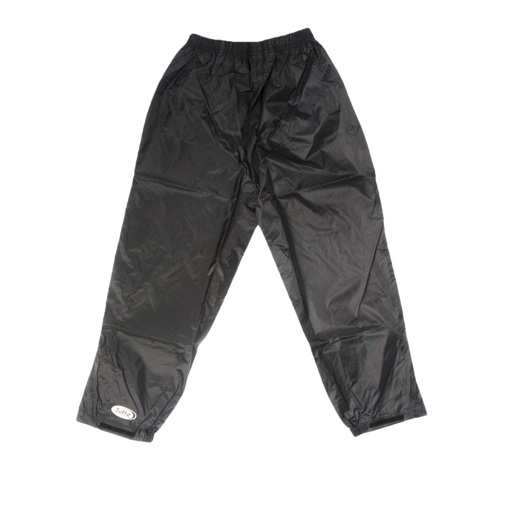 Rain Pants - Black Size 6X-7