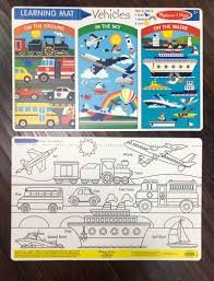 Learning Mat - Vehicles