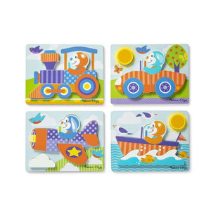 First Play Jigsaw Puzzle Set - Vehicles