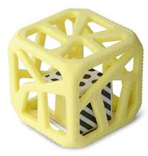 Load image into Gallery viewer, Chew Cube - Yellow