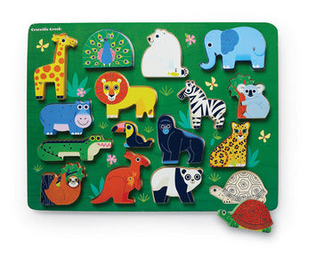Zoo Puzzle - 16 Pieces