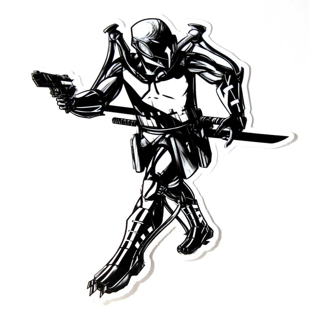 Stalking Nocturne Sticker