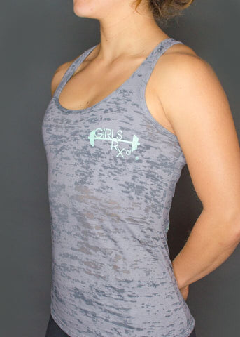 Girls RX'd Creed Burnout Tank