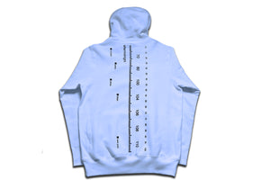 AM RADIO LOG PULLOVER CHAMBRAY BLUE