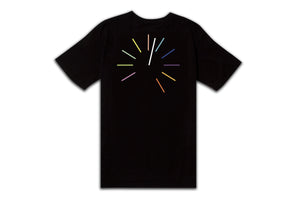 CLOCK STRIKES AFTERMIDNIGHT TEE BLACK