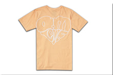 Load image into Gallery viewer, AM IS LOVE TEE PEACH