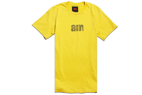 WAVE AM LOGO TEE YELLOW