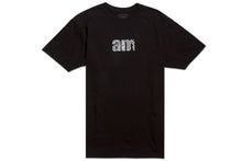 Load image into Gallery viewer, WAVE AM LOGO TEE BLACK