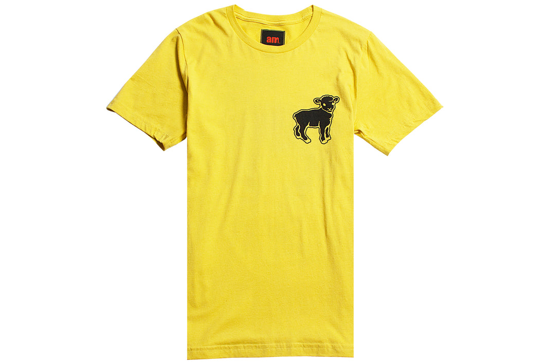 BLACK SHEEP TEE YELLOW