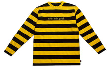 Load image into Gallery viewer, NEW NEW YORK BORDER LONG SLEEVE YELLOW & BLACK