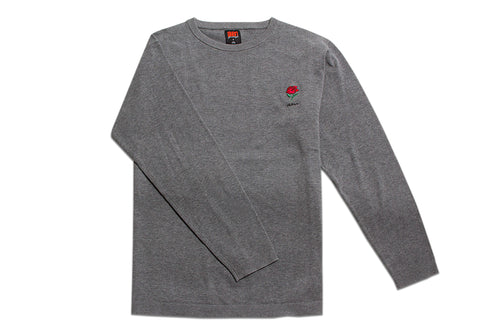 AM Rose Crewneck Sweater Grey