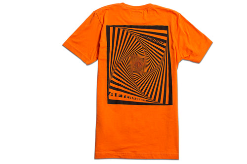 AFTERMIDNIGHT VORTEX TEE ORANGE