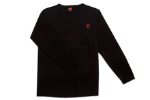 Load image into Gallery viewer, AM Rose Crewneck Sweater Black