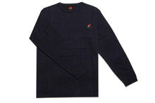 Load image into Gallery viewer, AM Rose Crewneck Sweater Navy