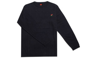 AM Rose Crewneck Sweater Navy