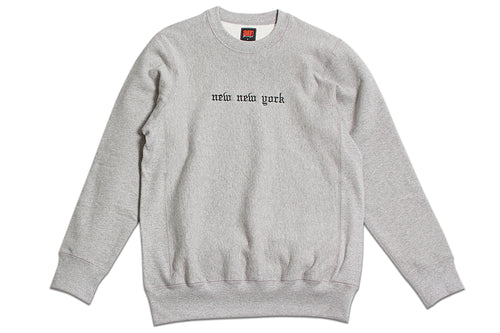 New New York Crewneck Heather Grey