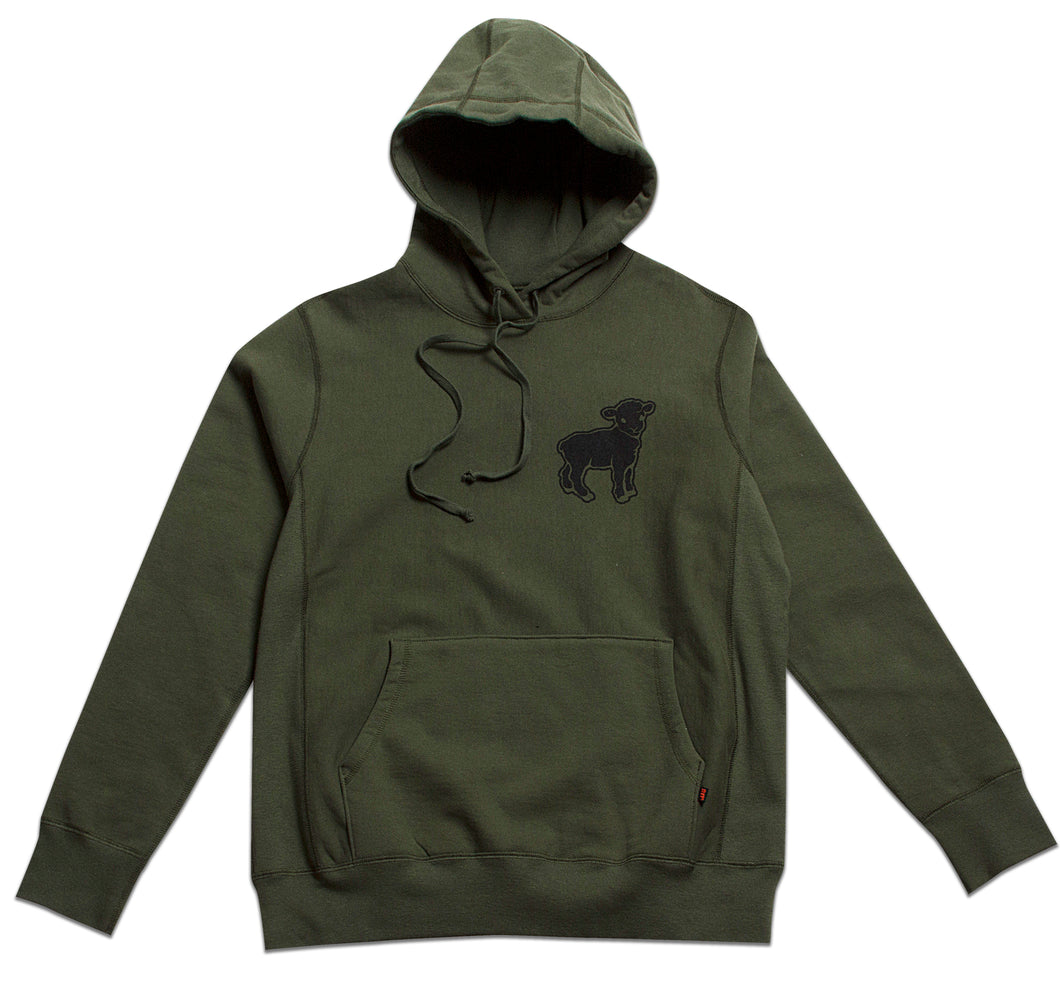 Black Sheep Pullover Olive Green