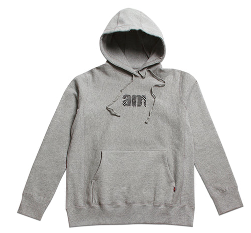 Wave AM logo Pullover Heather Grey