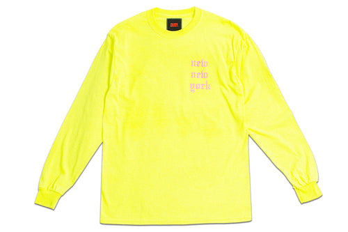 NEW NEW YORK LONG SLEEVE NEON YELLOW