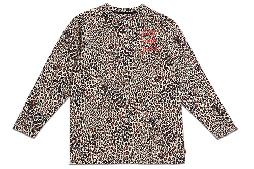 NEW NEW YORK LONG SLEEVE LEOPARD