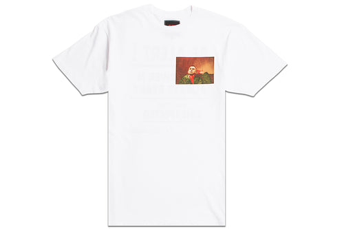 TAXI DRIVER TEE WHITE