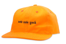 Load image into Gallery viewer, New New York Unstructured 6 Panel hat Orange