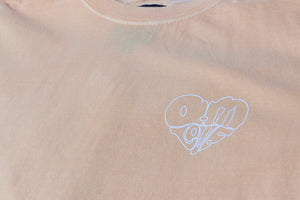 AM IS LOVE TEE PEACH