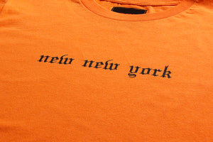 NEW NEW YORK TEE ORANGE