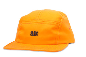 AM Logo Camper Cap Orange