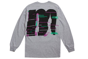 NOISE LONG SLEEVE TEE GREY