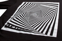 Load image into Gallery viewer, AFTERMIDNIGHT VORTEX TEE BLACK