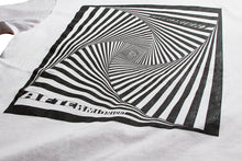 Load image into Gallery viewer, AFTERMIDNIGHT VORTEX TEE WHITE