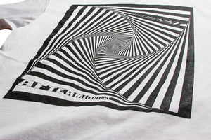 AFTERMIDNIGHT VORTEX TEE WHITE