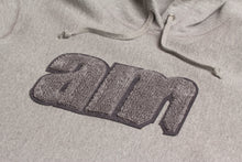 Load image into Gallery viewer, AM LOGO CHENILLE PATCH PULLOVER GREY