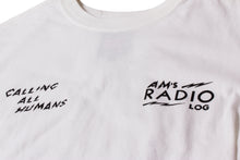 Load image into Gallery viewer, AM RADIO LOG TEE WHITE