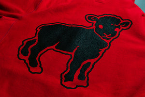 Black Sheep Pullover Red