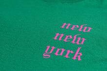 Load image into Gallery viewer, NEW NEW YORK LONG SLEEVE GREEN