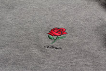 Load image into Gallery viewer, AM Rose Crewneck Sweater Grey