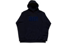 Load image into Gallery viewer, AM LOGO CHENILLE PATCH PULLOVER NAVY