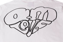 Load image into Gallery viewer, AM IS LOVE TEE WHITE