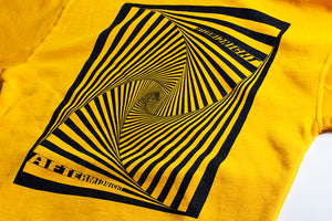 AFTERMIDNIGHT VORTEX PULLOVER YELLOW