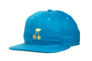 CHERRY UNSTRUCTURED 6 PANEL CAP BLUE