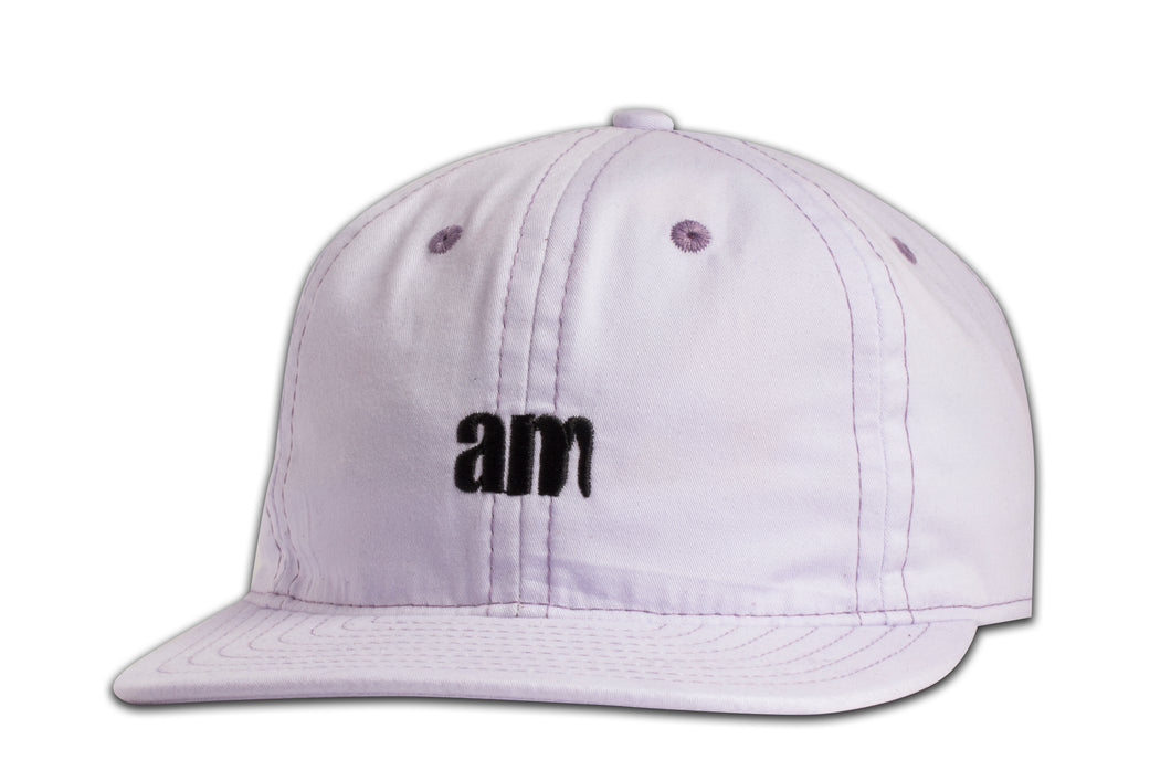 AM LOGO 6 PANEL CAP LAVENDER