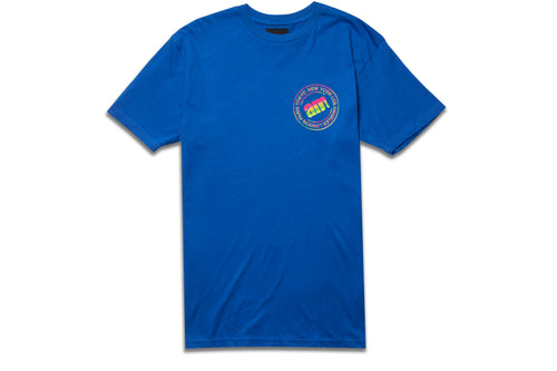 WORLDWIDE TEE ROYAL BLUE
